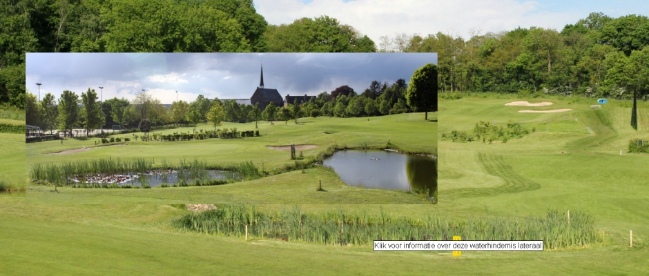virtuele tour golf club panorama interactief hole tee waterhindernis balvlucht