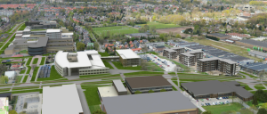 Helirama van Kenniscampus Ede met 3D model